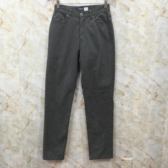 Vtg LIZ CLAIBORNE Classic Fit Jeans Gray Sz 4 Mom